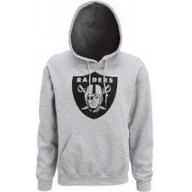 Oakland Raiders Large Logo Hooded Sweatshirt