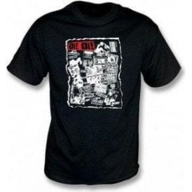 Oi Oi Punk/Skinhead 80's Collage T-shirt