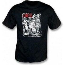 Oi Oi Punk/Skinhead 80's Collage T-shirt