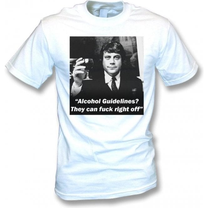 Ollie Reed - Alcohol Guidelines T-Shirt