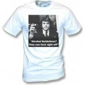 Ollie Reed - Alcohol Guidelines Vintage Wash T-Shirt