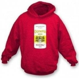Olympia Beer (As Worn By Kurt Cobain, Nirvana) Hooded Sweatshirt