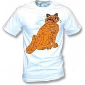 Orange Cat (As Worn By Anni-Frid Lyngstad, ABBA) Kids T-Shirt