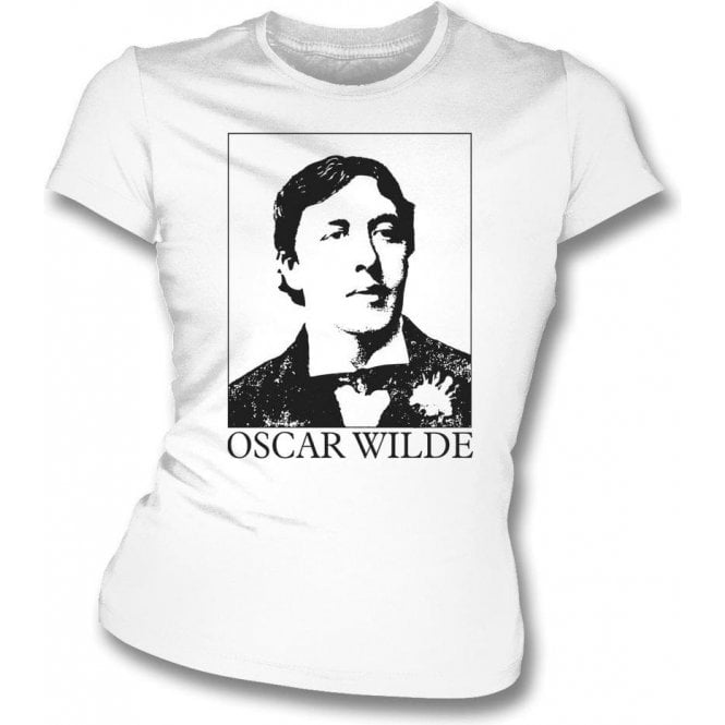 Oscar Wilde (As Worn By Morrissey, The Smiths) Womens Slim Fit T-shirt