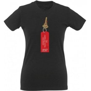Overlook Hotel - Room 237 (The Shining) Womens Slim Fit T-Shirt