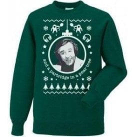 Partridge In A Pear Tree Kids Christmas Jumper