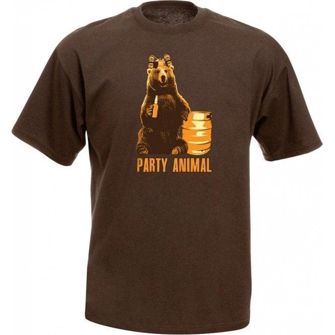 Party Animal Bear T-Shirt