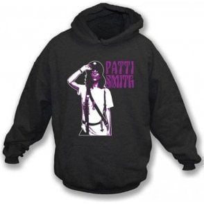 Patti Smith Salute Hooded Sweatshirt
