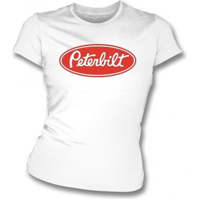 Peterbilt (As Worn By Freddie Mercury, Queen) Womens Slim Fit T-Shirt