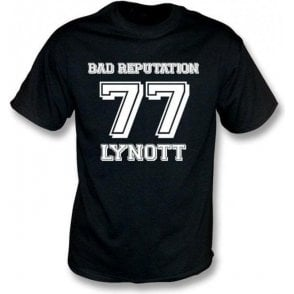 Phil Lynott Bad Reputation 77 T-shirt