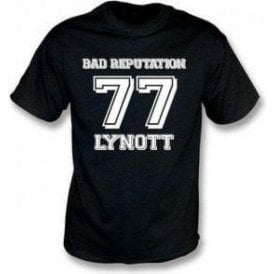Phil Lynott Bad Reputation 77 T-shirt