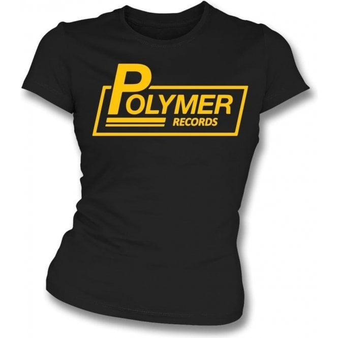 Polymer Records (Inspired by This Is Spinal Tap) Womens Slim Fit T-Shirt