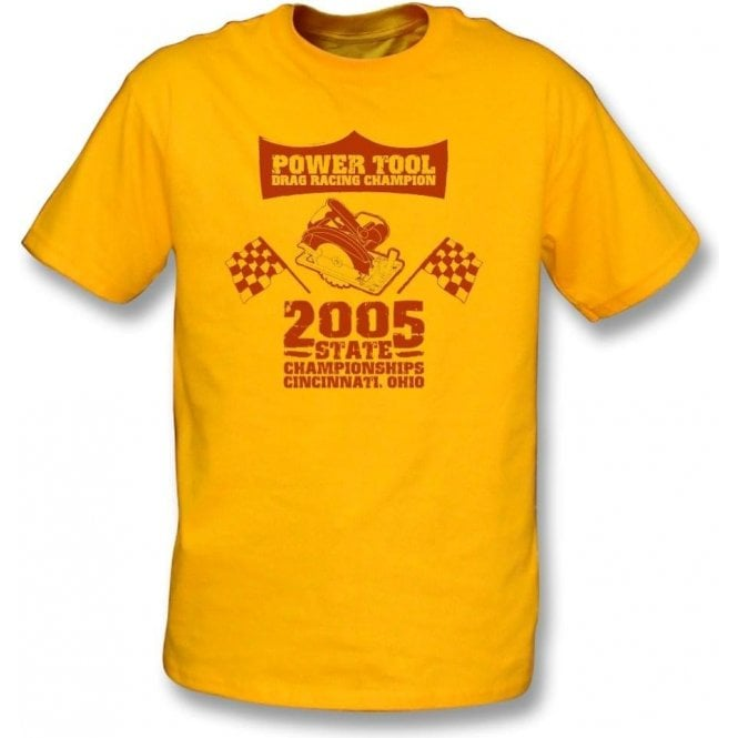 Power Tool Drag Racing Champion T-Shirt