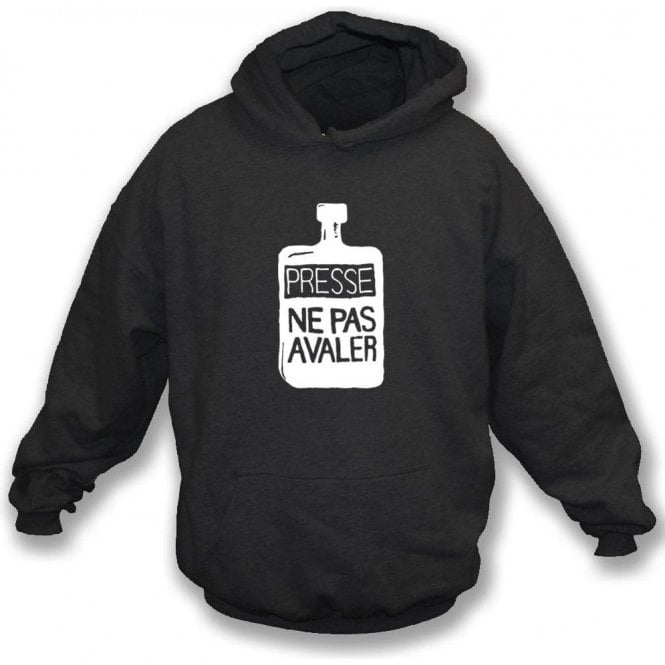 Presse Ne Pas Avaler (As worn by Thom Yorke of Radiohead) Hooded Sweatshirt