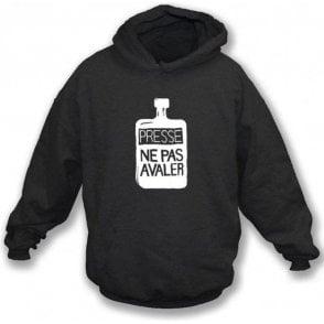 Presse Ne Pas Avaler (As worn by Thom Yorke of Radiohead) Hooded Sweatshirt