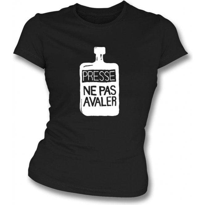 Presse Ne Pas Avaler (As worn by Thom Yorke of Radiohead) Womens Slim-Fit