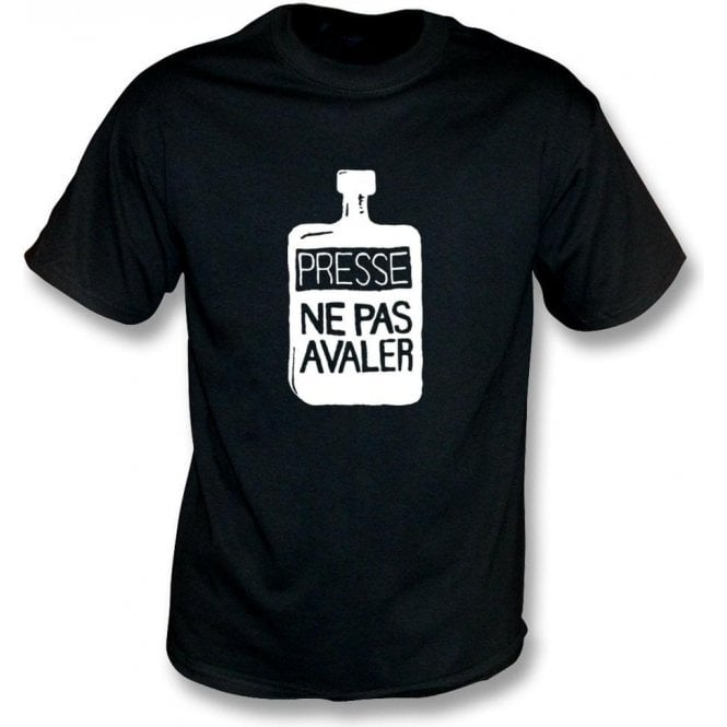 Presse Ne Pas Avaler (As Worn By Thom Yorke, Radiohead) T-Shirt