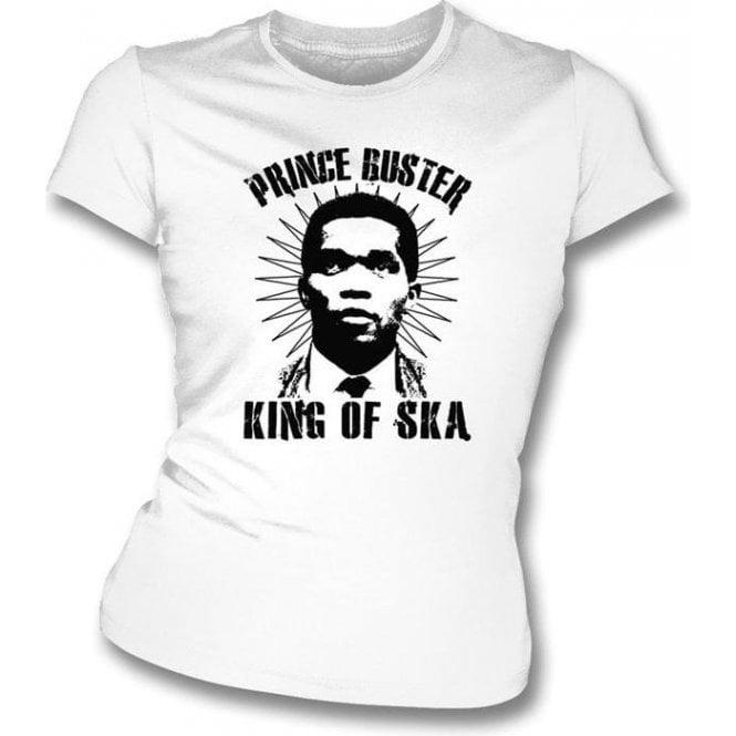 Prince Buster King of Ska Women's Slimfit T-shirt