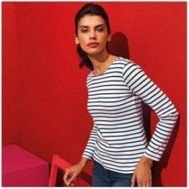 467fe625c03d8 Women s Mariniere Coastal Long Sleeve T-Shirt - from TShirtGrill UK