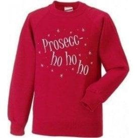 Prosecc-Ho Ho Ho Sweatshirt
