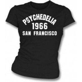 Psychedelia 1966 San Francisco Womens Slim Fit T-Shirt