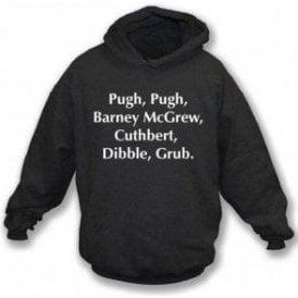 Pugh, Pugh, Barney McGrew (Inspired by Trumpton) Hooded Sweatshirt
