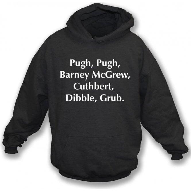Pugh, Pugh, Barney McGrew (Inspired by Trumpton) Kids Hooded Sweatshirt