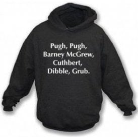 Pugh, Pugh, Barney McGrew (Inspired by Trumpton) Kids Hooded Sweatshirt