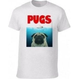 PUGS (JAWS Parody) Kids T-Shirt