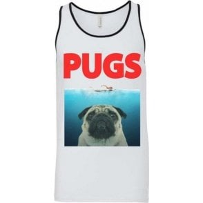 PUGS (JAWS Parody) Men's Tank Top