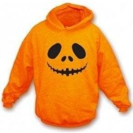 Pumpkin Face Hooded Sweatshirt