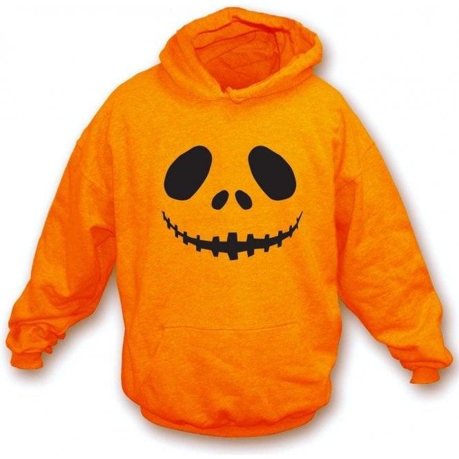 Pumpkin Face Kids Hooded Sweatshirt