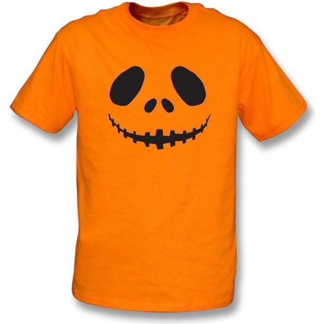 Pumpkin Face Kids T-Shirt