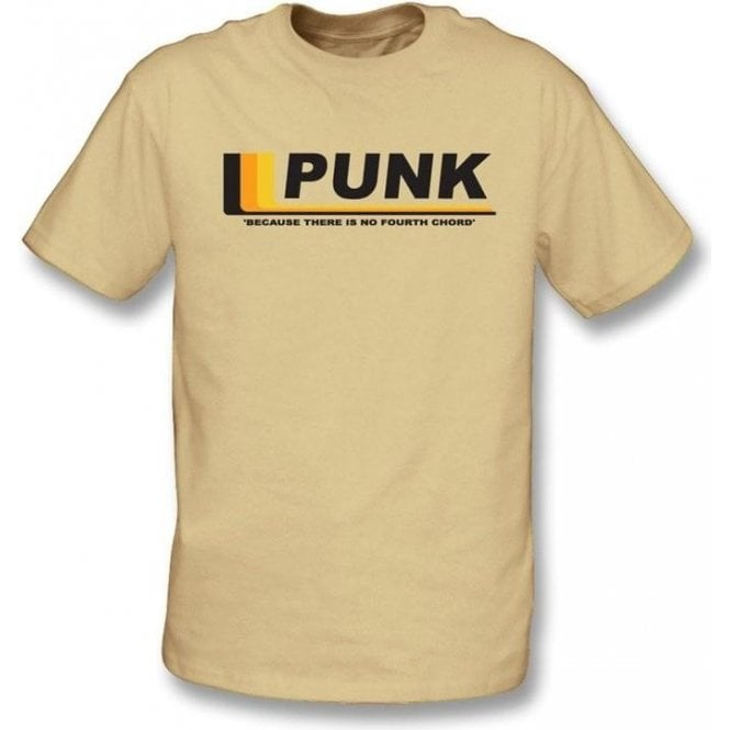 Punk - Because there is no fourth chord T-shirt