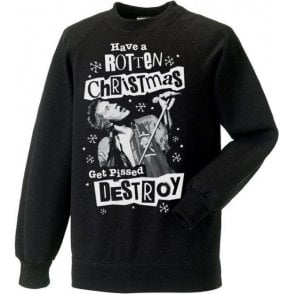 Punk Christmas (Johnny Rotten) Sweatshirt