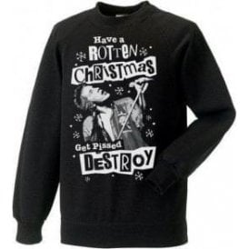 Punk Christmas (Johnny Rotten) Christmas Jumper