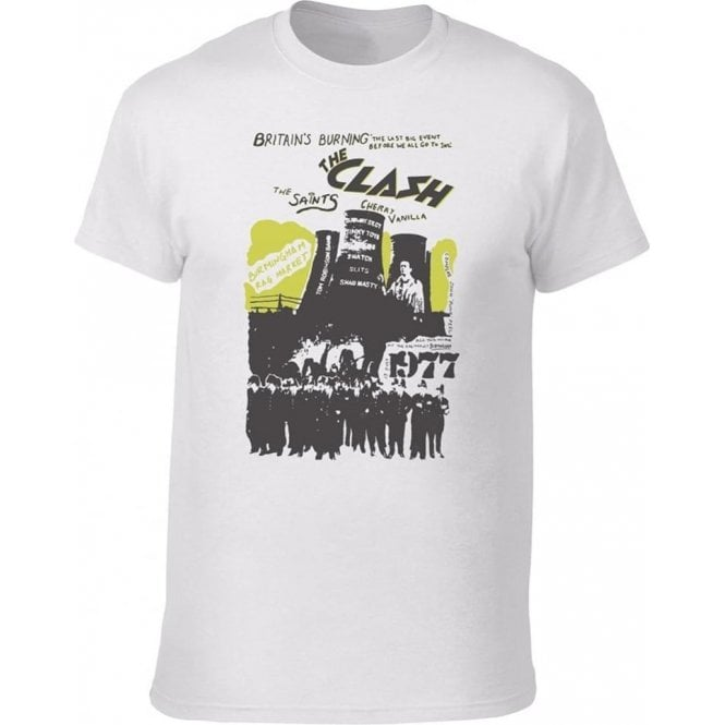Punk Poster 77 Vintage Wash T-Shirt