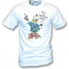 Punk Rock Duck T-shirt as worn by Kurt Cobain (Nirvana) Men's T-shirt