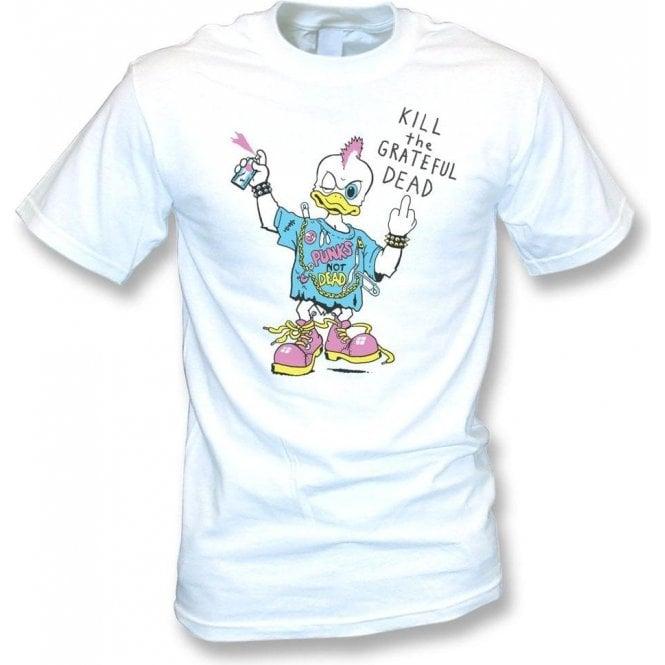 Punk Rock Duck T-shirt as worn by Kurt Cobain (Nirvana) Vintage Wash T-shirt
