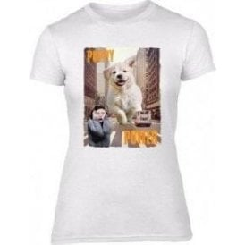 Puppy Power Womens Slim Fit T-Shirt