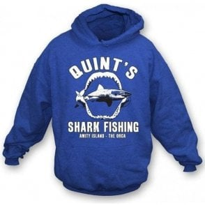 Quint's Shark Fishing (Inspired by JAWS) Hooded Sweatshirt