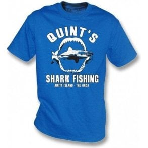 Quint's Shark Fishing (Inspired by JAWS) T-shirt