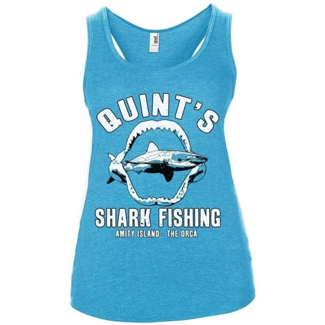 Quint's Shark Fishing Women's Tank Top