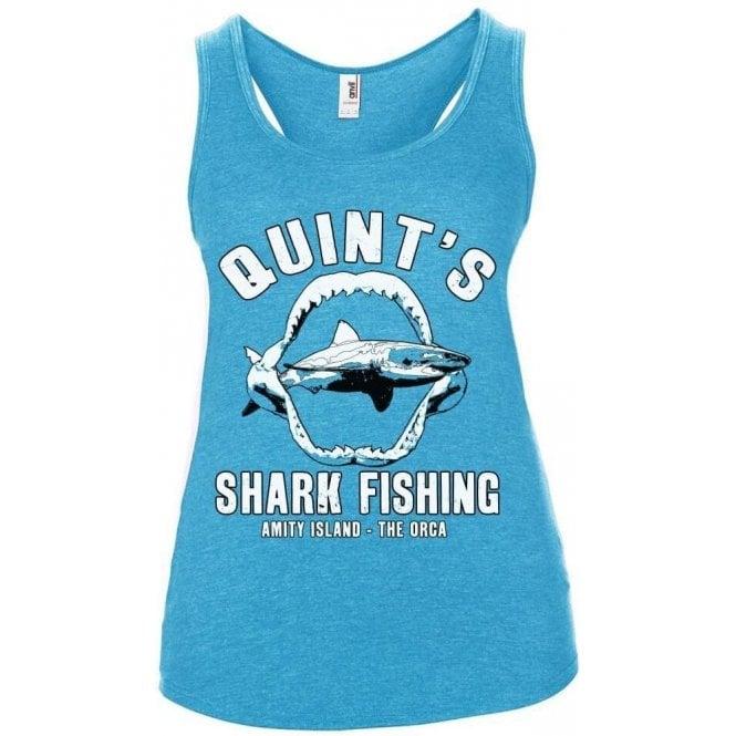 Quint's Shark Fishing Women's Tank Top