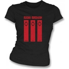 Radio Birdman Burn My Eye Girl's Slim-Fit T-shirt