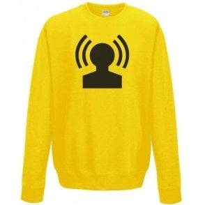 Radio Head (As Worn By Jonny Greenwood, Radiohead) Kids Sweatshirt