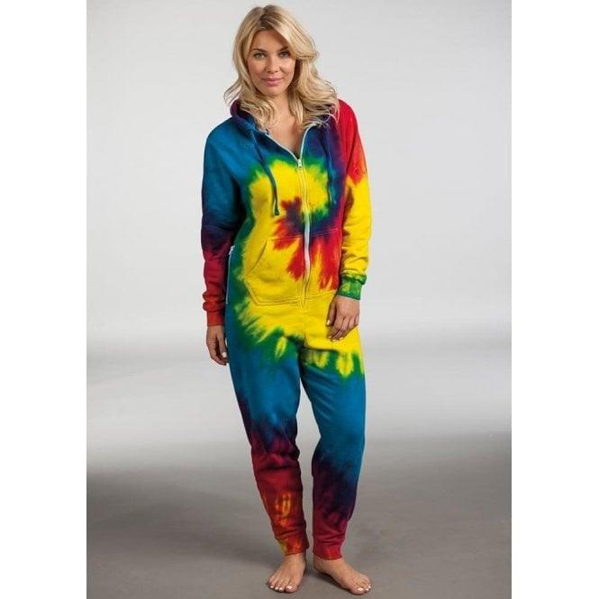 Rainbow Tie-Dye Onesie