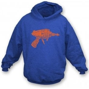 Ray Gun As Worn By Sheldon (Big Bang Theory) Hooded Sweatshirt