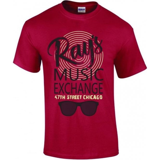Ray's Music Exchange (Inspired by The Blues Brothers) T-Shirt