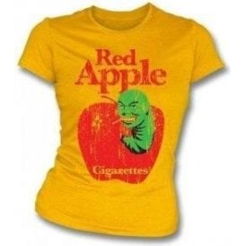 Red Apple Cigarettes (Inspired by Pulp Fiction) Girl's Slim-Fit T-shirt